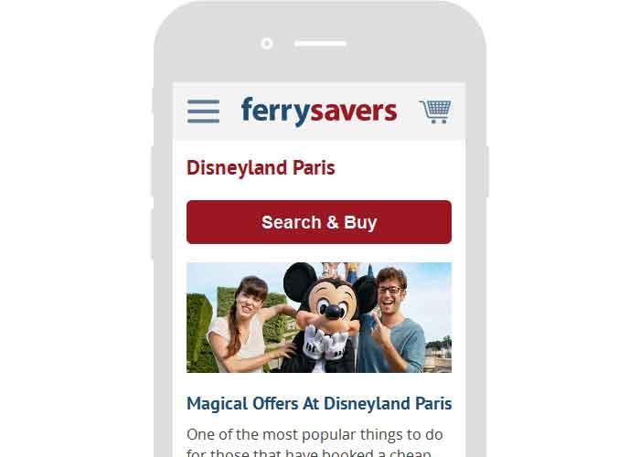 Ferrysavers website's screenshot